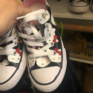 Hello kitty converse kids size 12